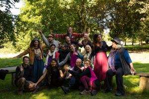 Facilitation team at the Social Permaculture Course