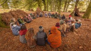 Circle gathering